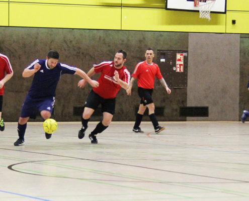 Hallenfussballturnier der FFO in Saarlouis